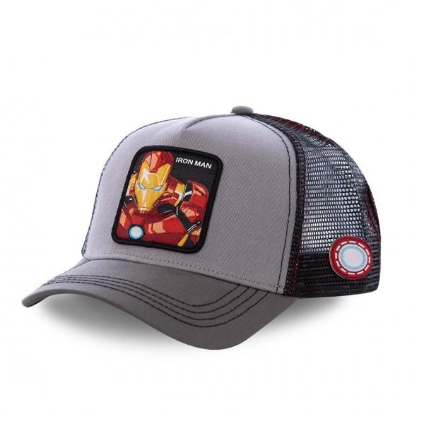 Kšiltovka CAPSLAB Marvel Ironman grey