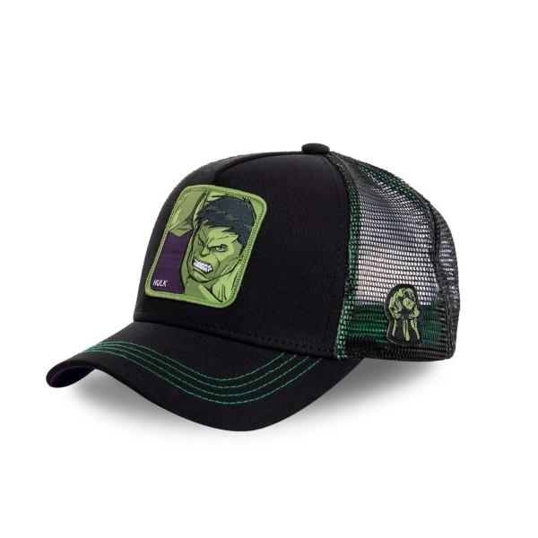 Kšiltovka CAPSLAB Marvel Hulk black