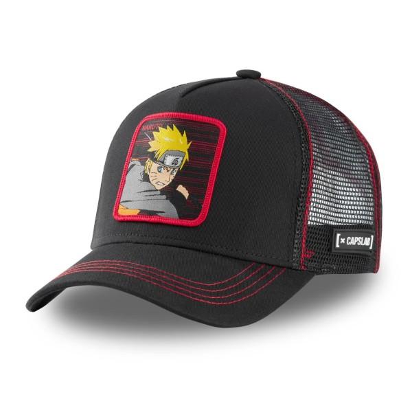Kšiltovka CAPSLAB Naruto black/red