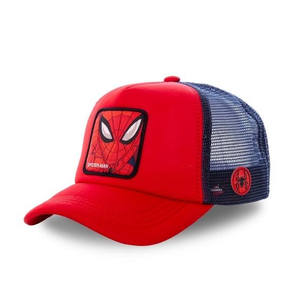 Kšiltovka CAPSLAB Marvel Spiderman red