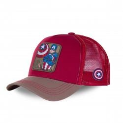 Kšiltovka CAPSLAB Marvel Captain America red