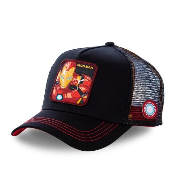 Kšiltovka CAPSLAB Marvel Ironman black