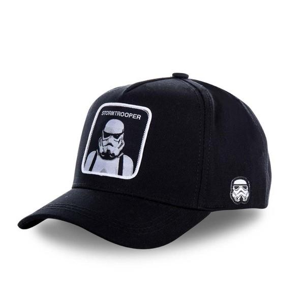 Kšiltovka CAPSLAB Star Wars Stormtrooper black