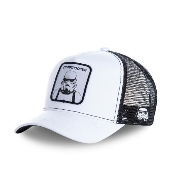 Kšiltovka CAPSLAB Star Wars Stormtrooper white