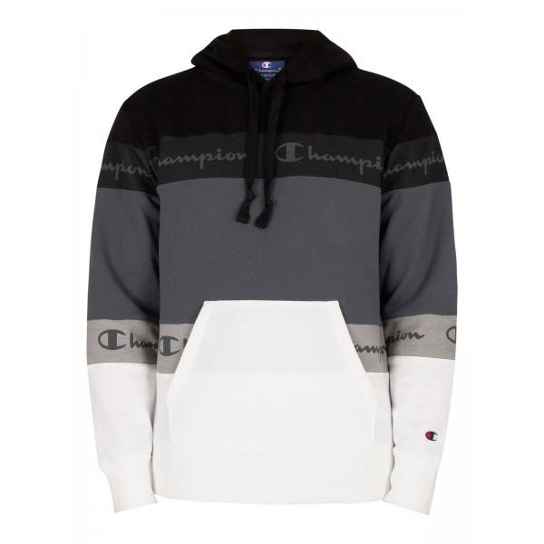 Mikina CHAMPION Comfort Hoodie black/grey
