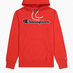 Mikina CHAMPION Rochester Script Hoodie red