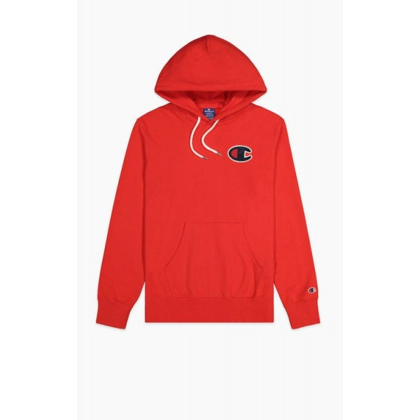 Mikina CHAMPION Rochester C-Logo Hoodie red