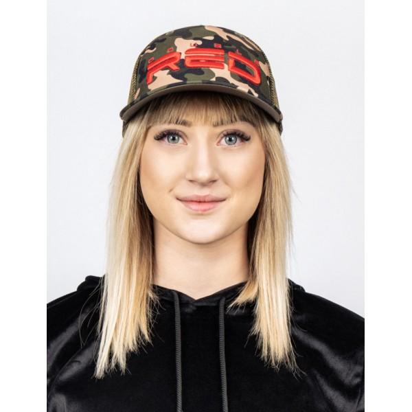 Kšiltovka DOUBLE RED Rapid Camodress cap