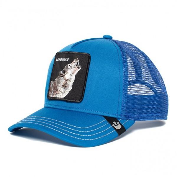 Kšiltovka GOORIN BROS. Wolf Man blue