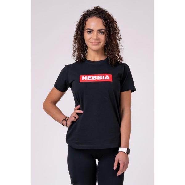 Tričko NEBBIA black