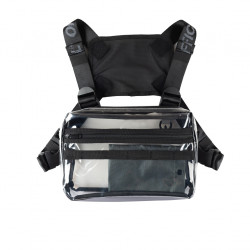 Taška OFFICIAL Translucent Chest bag clear