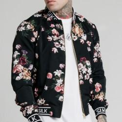 Bunda SIK SILK Prestige Floral Bomber Jacket