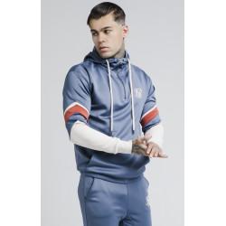 Mikina Sik Silk Sprint Quarter Zip blue