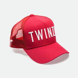 Kšiltovka TWINZZ 3D Mesh Trucker red/white
