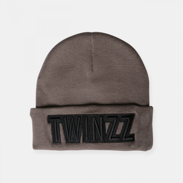 Čepice TWINZZ Uber Embro Knitted charcoal/black