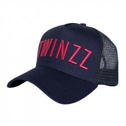 Kšiltovka TWINZZ 3D Twz Core navy/pink