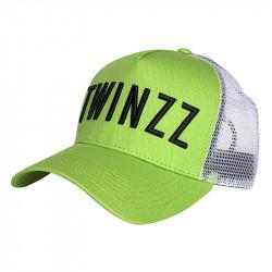 Kšiltovka TWINZZ 3D Twz Core lime/black
