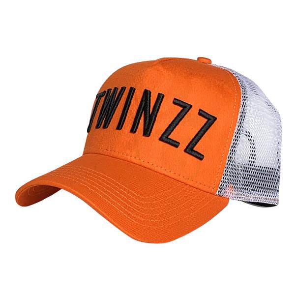 Kšiltovka TWINZZ 3D Twz Core orange/black