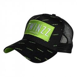 Kšiltovka TWINZZ Pinelli Ss Trucker black/lime