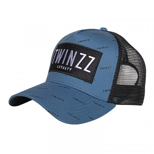 Kšiltovka TWINZZ Pinelli Ss Trucker smoke blue/black