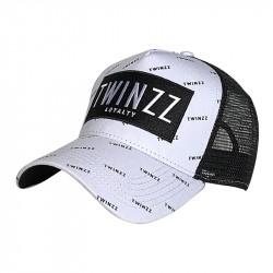 Kšiltovka TWINZZ Pinelli Ss Trucker white/black