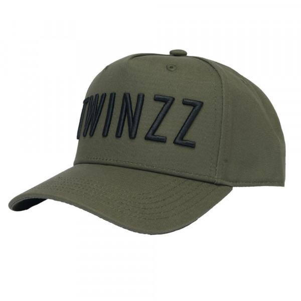 Kšiltovka TWINZZ 3D Full Trucker olive/black