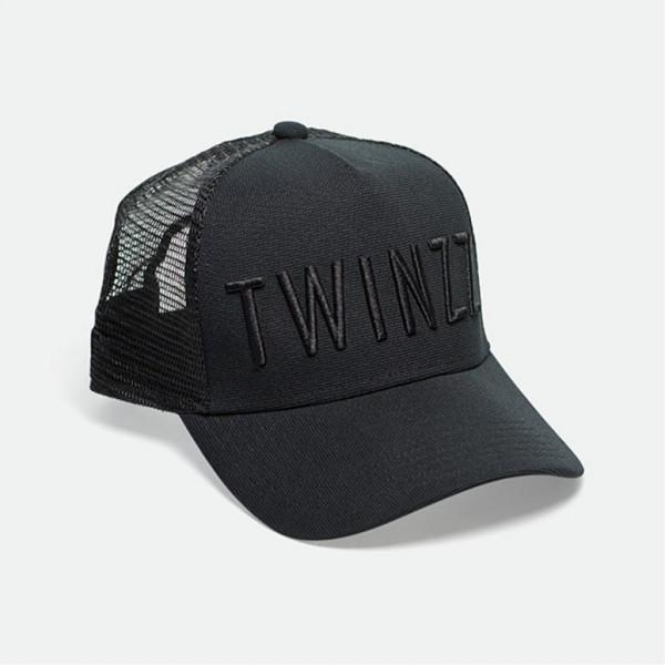 Kšiltovka TWINZZ 3D Mesh Trucker black