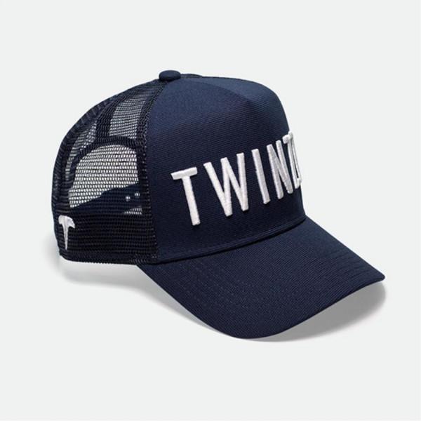 Kšiltovka TWINZZ 3D Mesh Trucker navy/white