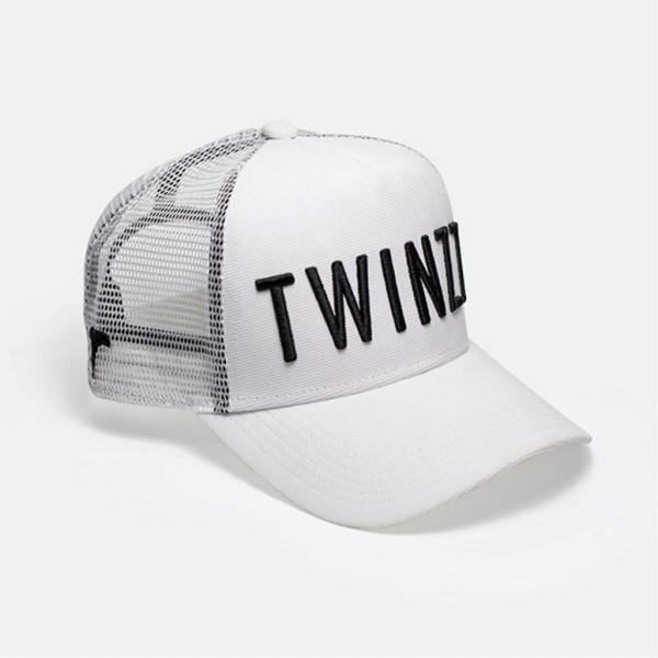Kšiltovka TWINZZ 3D Mesh Trucker white/black