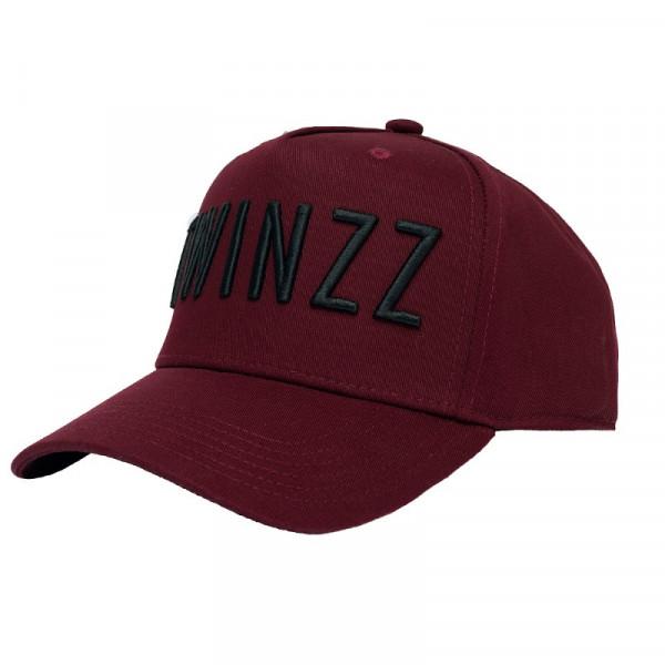 Kšiltovka TWINZZ 3D Full Trucker burgundy/black