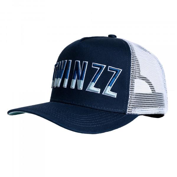 Kšiltovka TWINZZ Gradient Mesh Trucker navy/white/baby blue