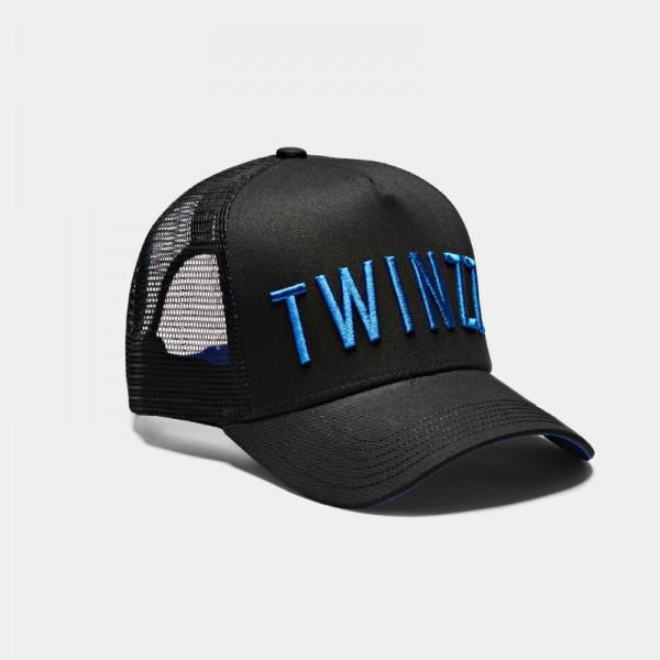 Kšiltovka TWINZZ 3D Mesh trucker black/electric navy