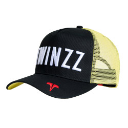 Kšiltovka TWINZZ Core Tri-Color Trucker black/yellow/white