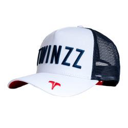 Kšiltovka TWINZZ Core Tri-Color Trucker white/navy/red