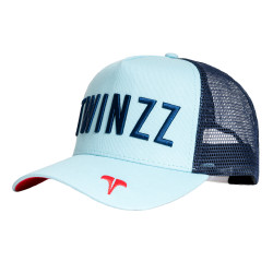 Kšiltovka TWINZZ Core Tri-Color Trucker baby blue/navy/red