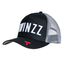 Kšiltovka TWINZZ Core Tri-Color Trucker black/grey/red