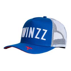 Kšiltovka TWINZZ Core Tri-Color Trucker royal/white/red