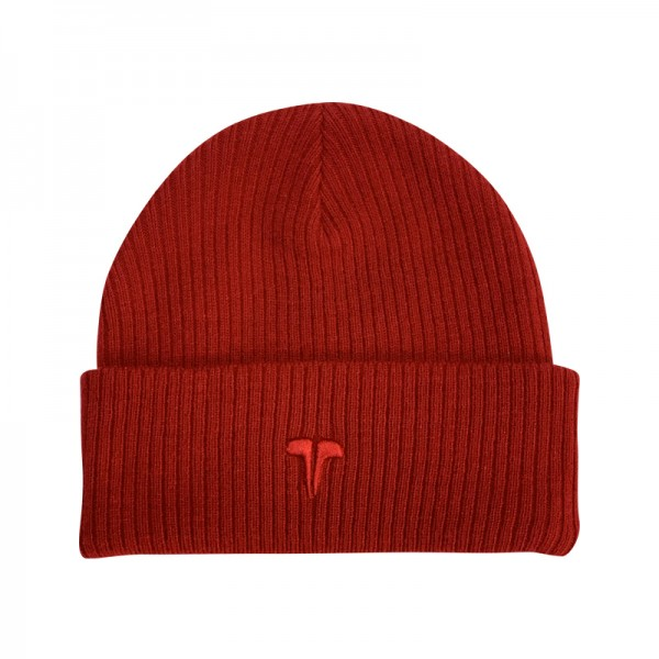 Zimní čepice TWINZZ Premium Ribbed Beanie red