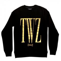 Mikina TWINZZ Rossi Sweatshirt black/gold