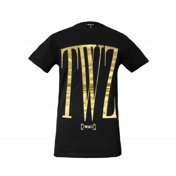 Tričko TWINZZ Rossi Tee black/gold