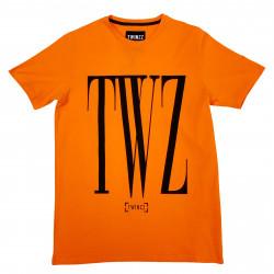 Tričko TWINZZ Rossi Tee orange/black