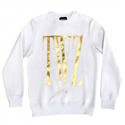 Mikina TWINZZ Rossi Sweatshirt white/gold