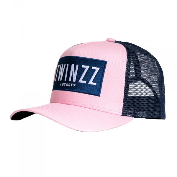 Kšiltovka TWINZZ Sencillo Ss Trucker pink/navy