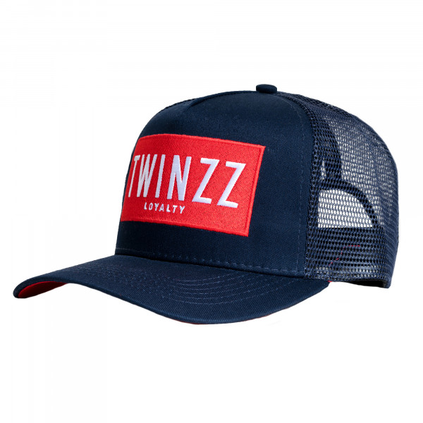 Kšiltovka TWINZZ Sencillo Ss Trucker navy/red