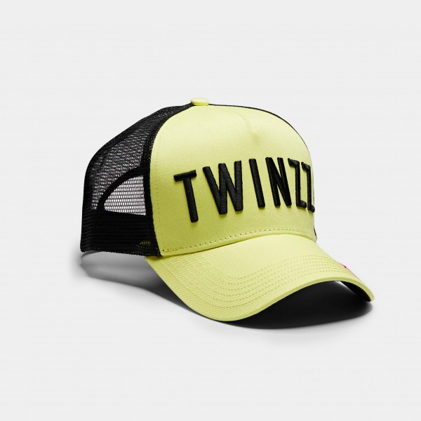 Kšiltovka TWINZZ 3D Mesh yellow