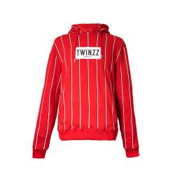 Mikina TWINZZ Virgilli Stripe red/navy/white